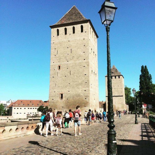 Les visites touristiques de Strasbourg obéissent à un cadre strict... (doc remis)