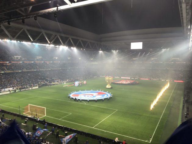 Au début du match, les objectifs étaient clairs pour chacune des équipes (Photo JFG / Rue89 Strasbourg / cc)