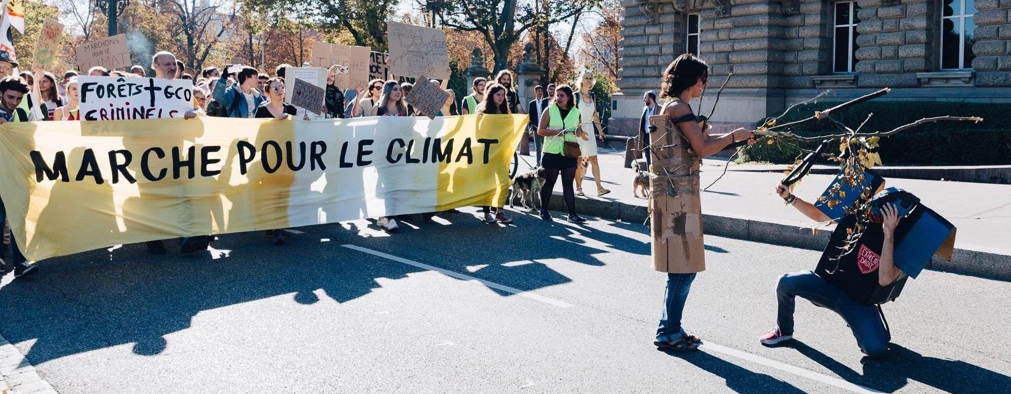 Avec les lycéens, trois manifestations pour le Climat de vendredi à dimanche
