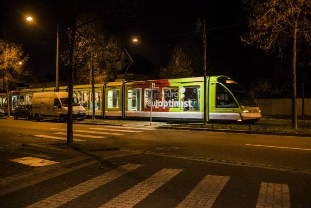 Schiltigheim aura-t-il droit à son tram à l'ouest, voté en 2013 ? (Photo Pascal Bastien / Divergence)