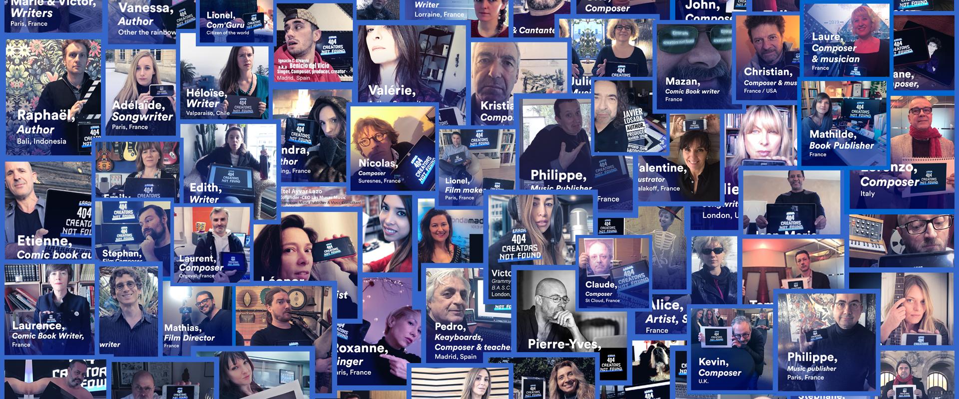 Manifestations mardi en soutien à la réforme du droit d'auteur européen à Strasbourg