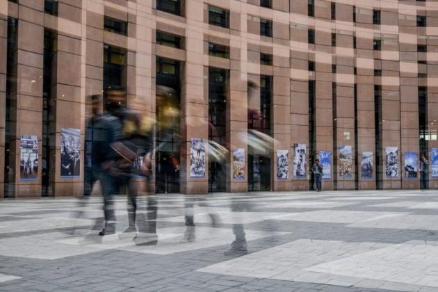 Parlement européen Strasbourg agora