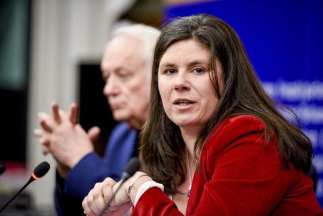 Viriginie Rozière au parlement européen