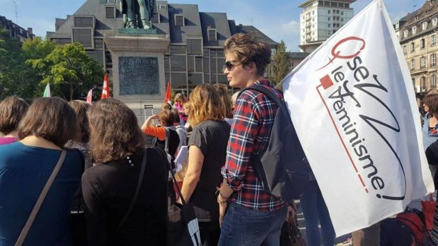 Le collectif Osez le féminisme 67 organise la marche. D'autres collectifs s'y sont associés : Nous toutes 67, Les effronté-e-s de Strasbourg et Les héritier·e·s d'Athéna.