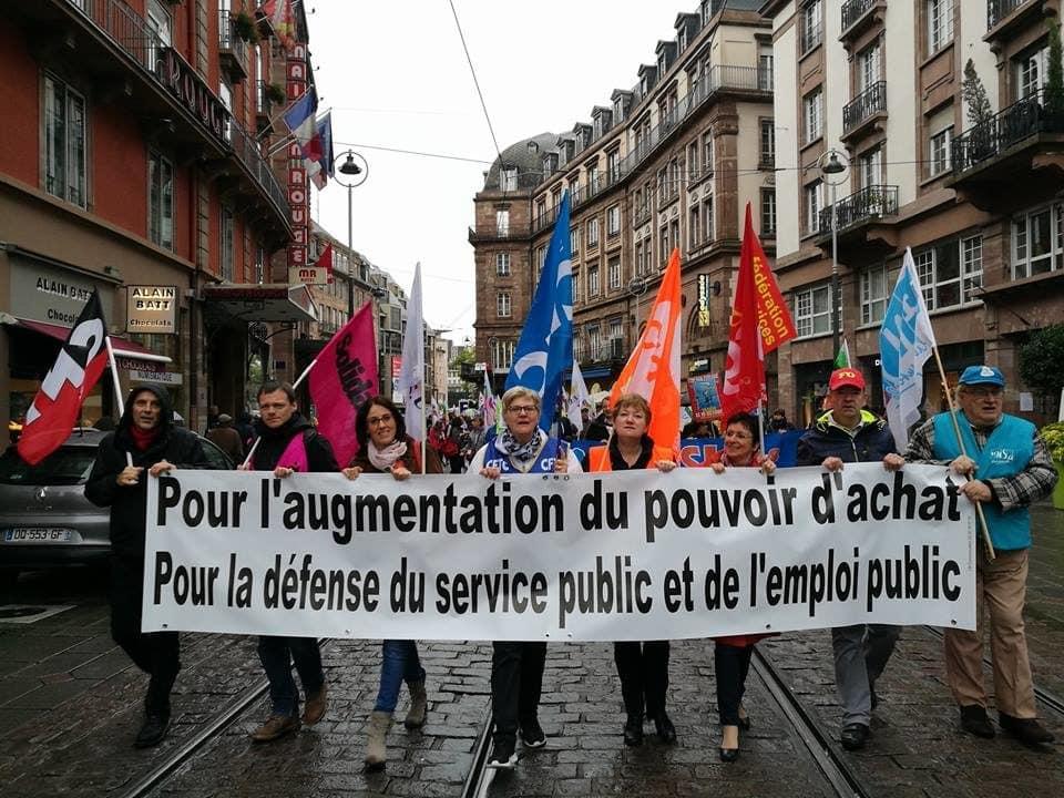 Pour le 1er mai, les droits des travailleurs et un peu plus d'écologie dans le défilé des syndicats
