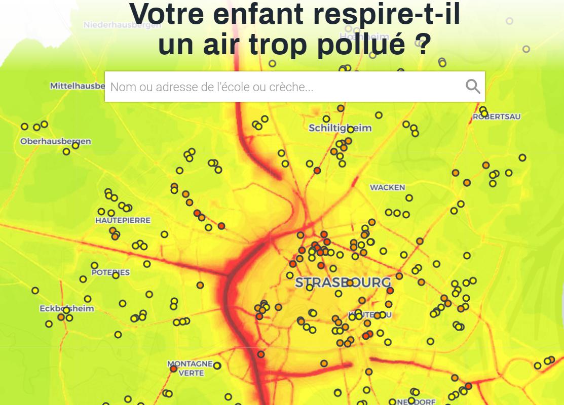 Greenpeace alerte sur la pollution de l'air dans les crèches et écoles strasbourgeoises