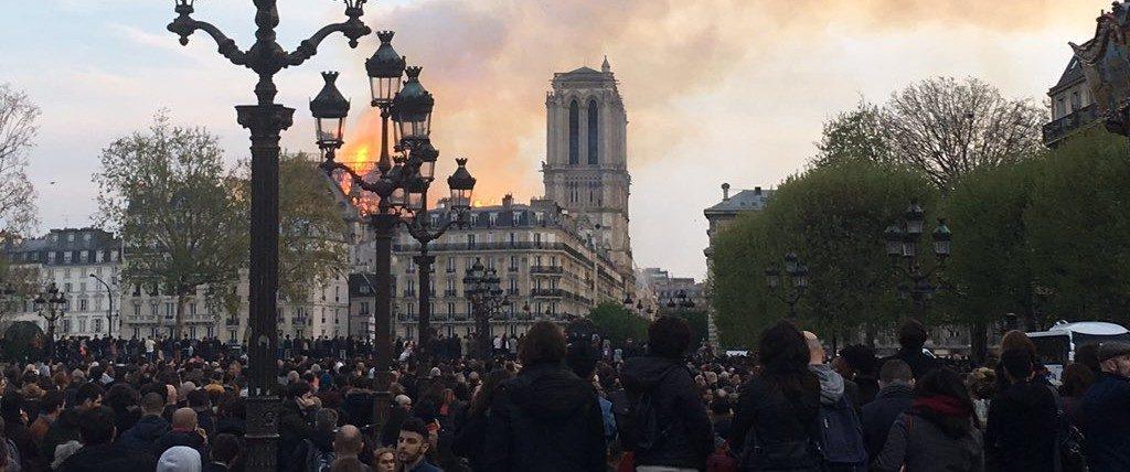 Strasbourg se mobilise pour Notre-Dame de Paris