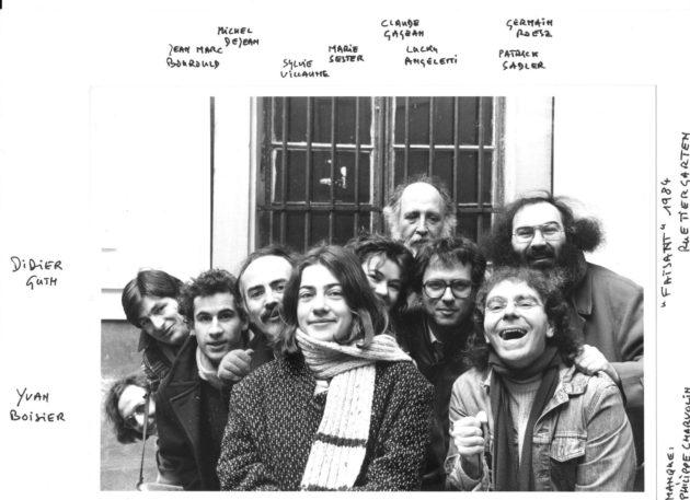 Membres de l'association Le Faisant en 1984 (Document remis / DR)
