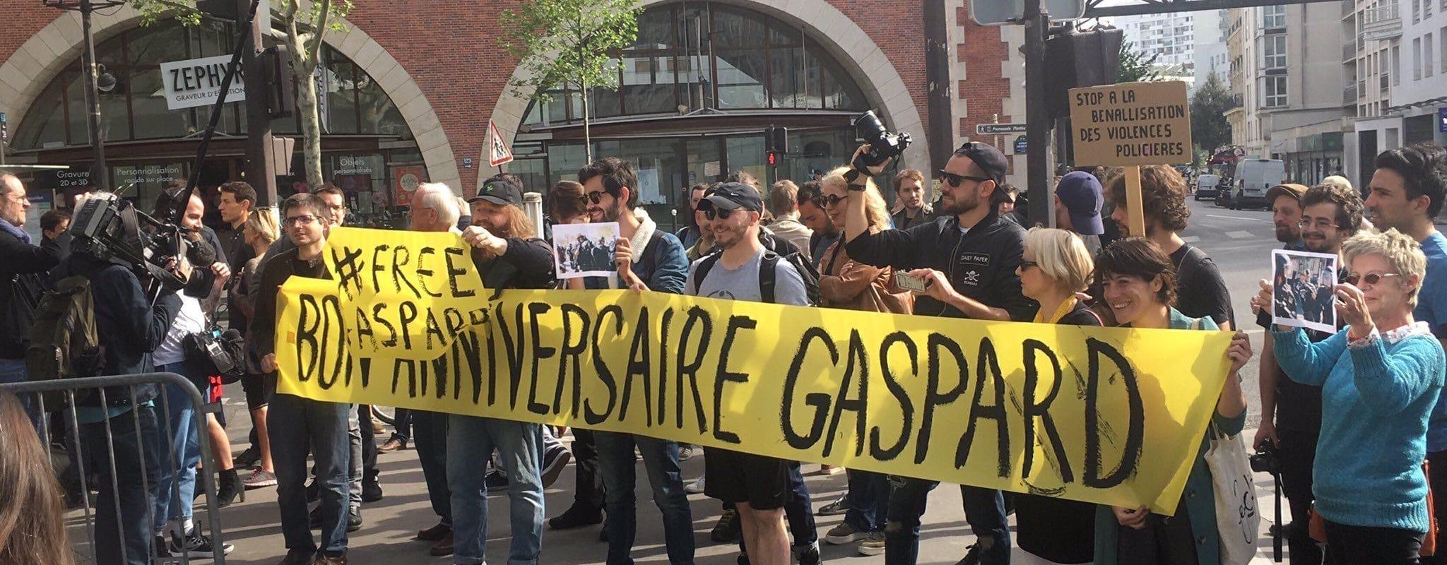 Le journaliste strasbourgeois Gaspard Glanz arrêté à Paris, en marge de la manifestation des Gilets jaunes