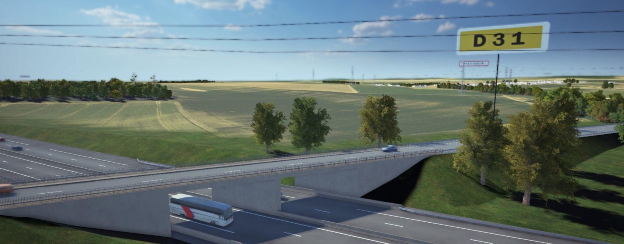 Fermeture de trois routes sur le chantier du GCO