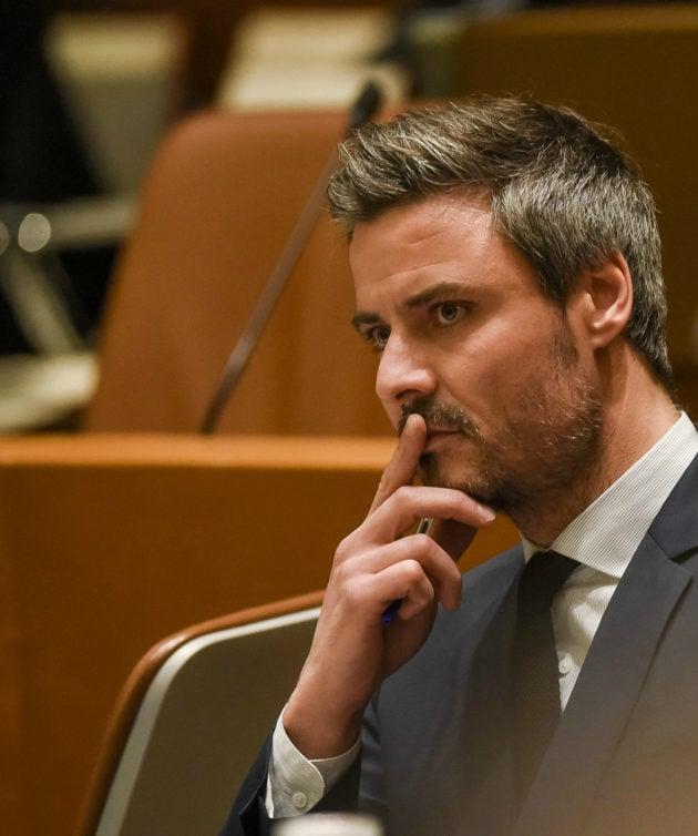 Jean-Philippe Vetter est l'un des deux candidats déclaré pour la droite à Strasbourg. Avant d'autres ? (photo Pascal Bastien / Divergence)