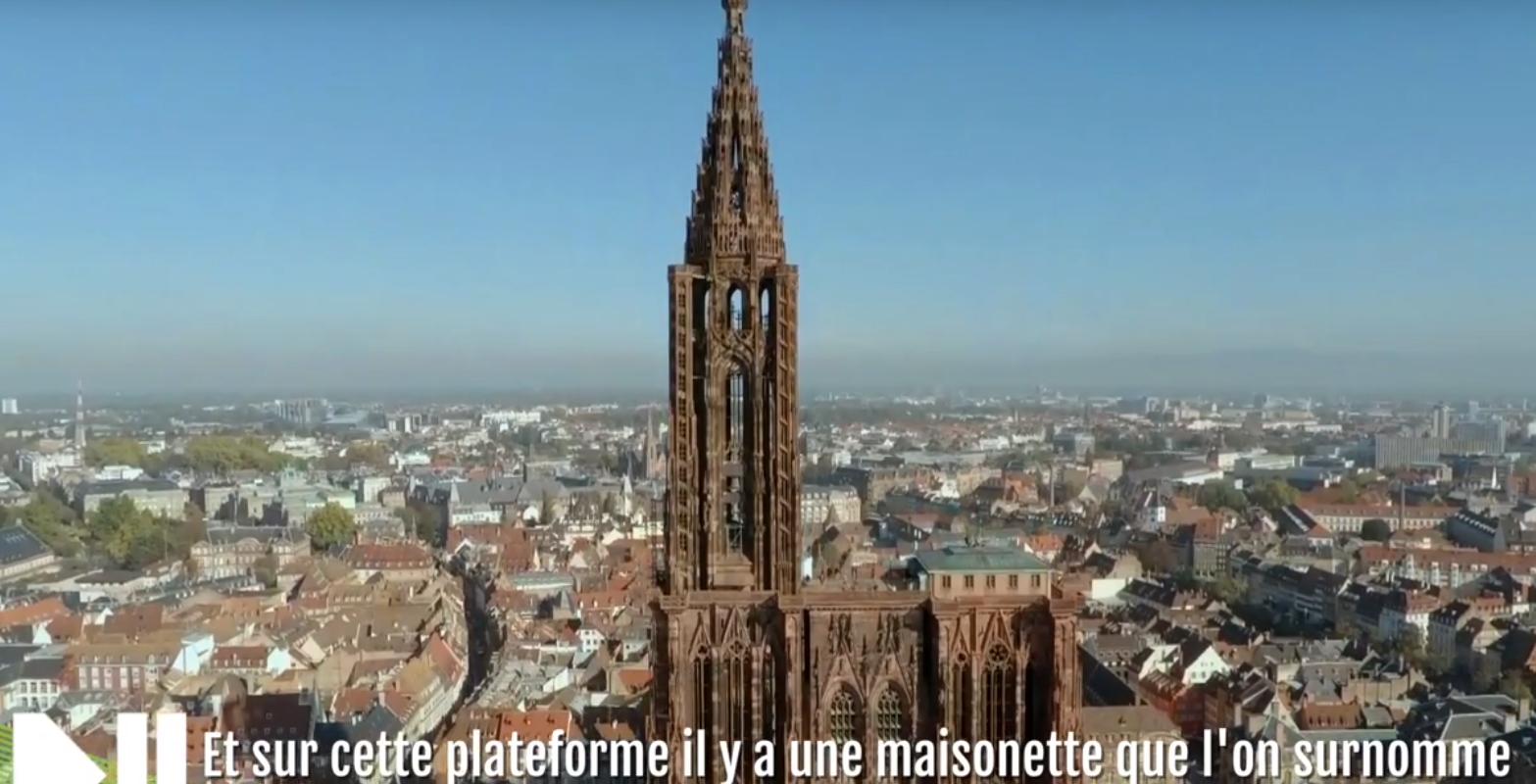 Sur la plateforme de la Cathédrale, la maisonnette rénovée