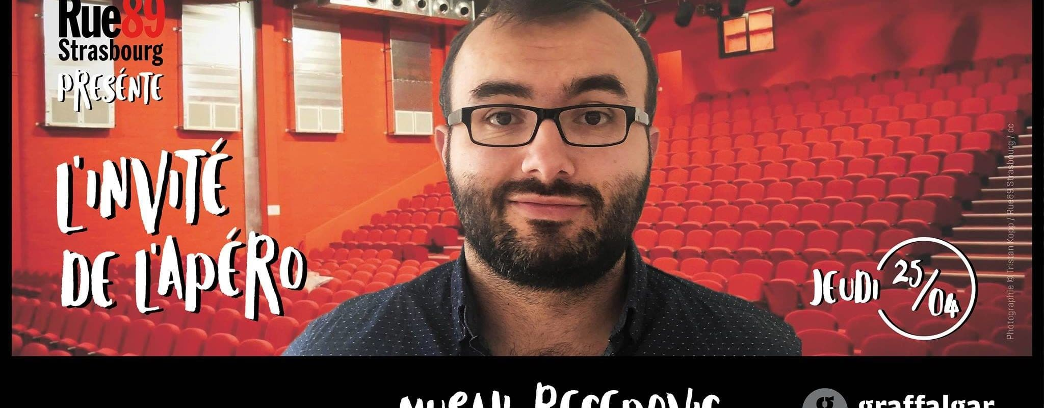 [Annulé] – Invité de l'apéro: Musah Recepovic de la Scène de Strasbourg