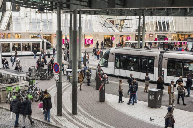 Le débat sur la gratuité des transports a permis de revoir les tarifs sociaux de la CTS (photo Pascal Bastien / Rue89 Strasbourg)