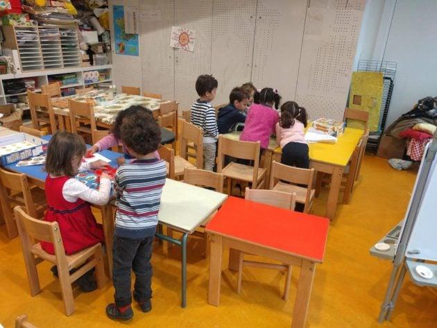 À l'école Saint-Jean, les petits vont devoir désormais rester en classe jusqu'à 16h30... (Photo PF / Rue89 Strasbourg / cc)