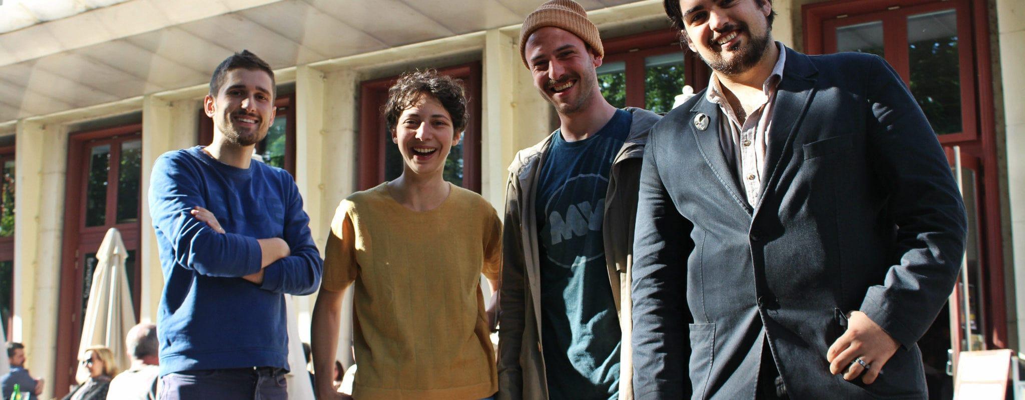 Retrouvez la team radio de Rue89 Strasbourg dans 89dB, en direct de la terrasse du TNS vendredi à 18h