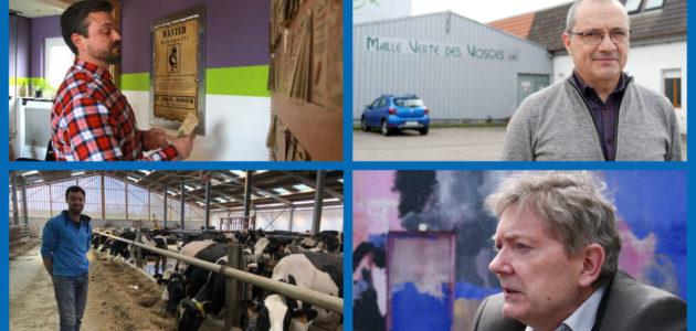 Brexit, quotas laitiers, patron… L'Europe a «changé leur vie»