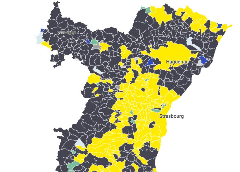Européennes : LREM et RN se partagent l'Alsace