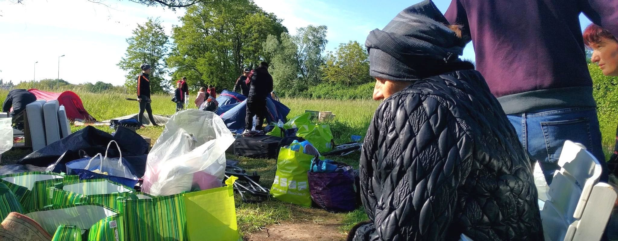 Nouvelle évacuation du camp de migrants des Ducs d'Alsace
