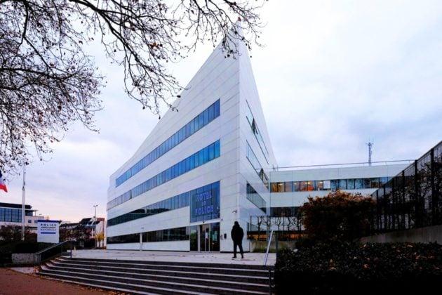 L'hôtel de police de Strasbourg (doc remis)