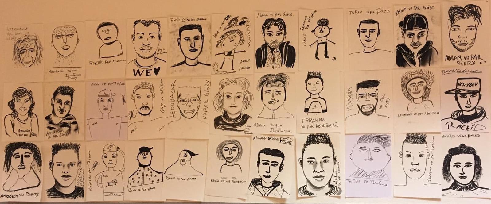 Une exposition des œuvres de réfugiés pour financer le centre Bernanos