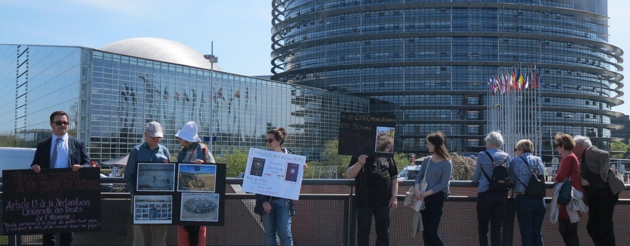 Dimanche, rassemblement «pour une autre politique migratoire» pendant les portes ouvertes du Parlement européen