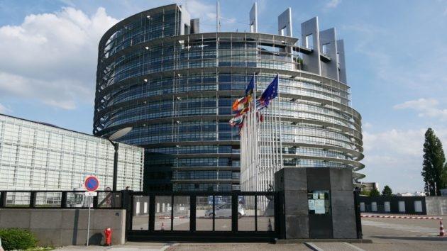 Le Parlement européen sera renouvelé ce soir, résultats à 20h... (Photo GK / Rue89 Strasbourg)
