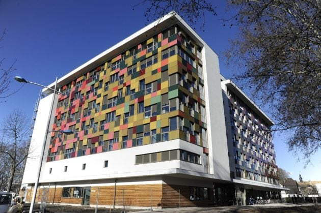 Le pôle de l'habitat social abrite les bureaux de CUS Habitat et d'Habitation Moderne (Photo CUS Habitat / Wikimedia Commons / cc)