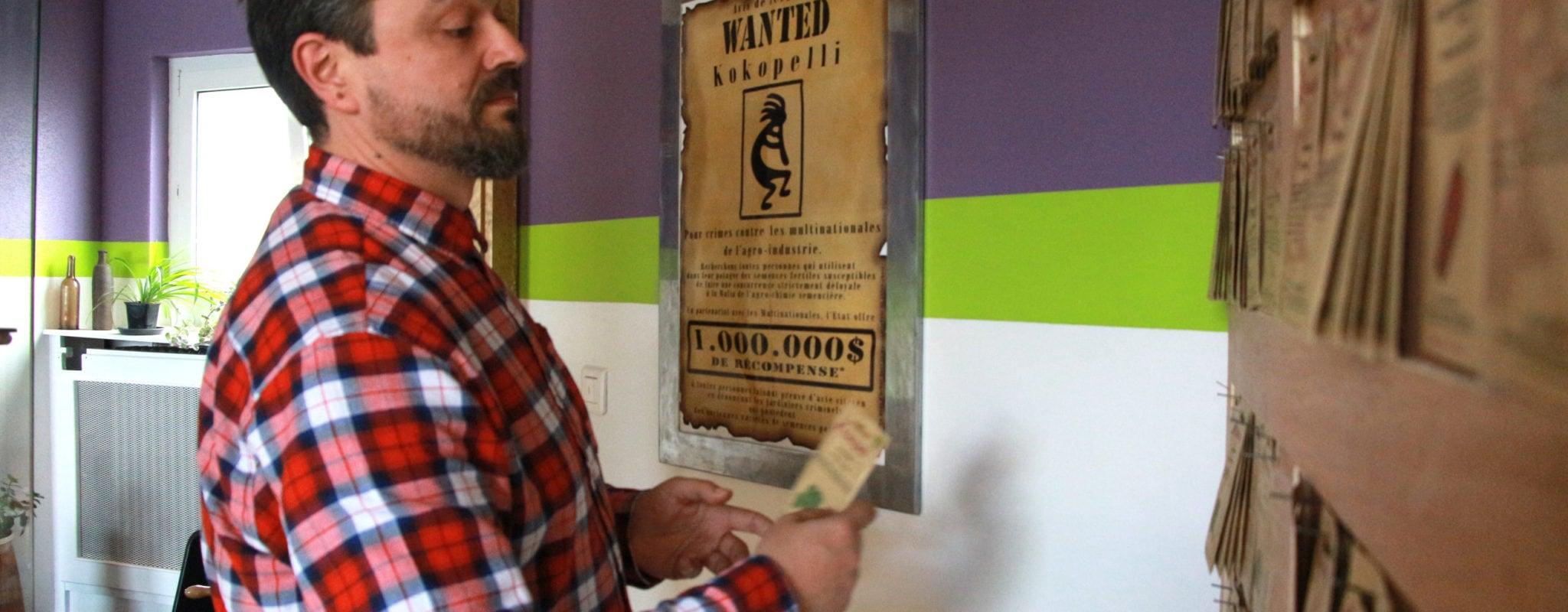 Sébastien, vendeur de semences «pirates»: quand l'Europe pousse et la France freine