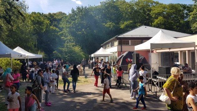 Lors de sa précédente édition, près de 800 personnes au total se sont rendues à la fête du quartier Hautepierre sur toute la journée.