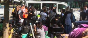 Le camp de migrants des Canonniers à nouveau démantelé
