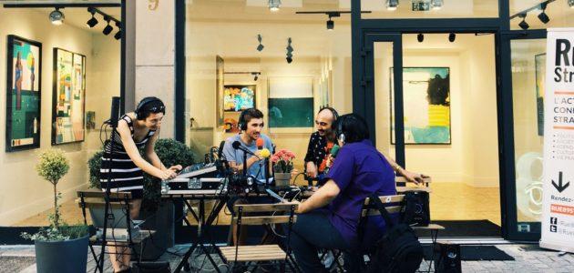 Un studio radio posé rue du Parchemin, réécoutez 89dB à la galerie de street art Malagacha