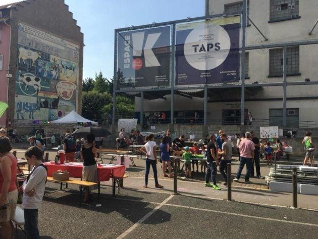 Depuis 2018, la fête du quartier Gare s'associe aux institutions culturelles avec son déménagement rue du Hohwald. (doc remis)