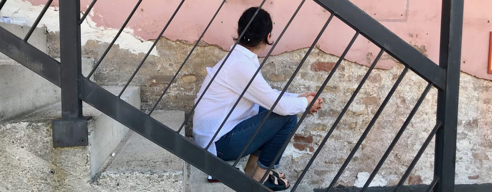 Nato, journaliste géorgienne au squat Gruber : «Je suis remplie de bonheur»