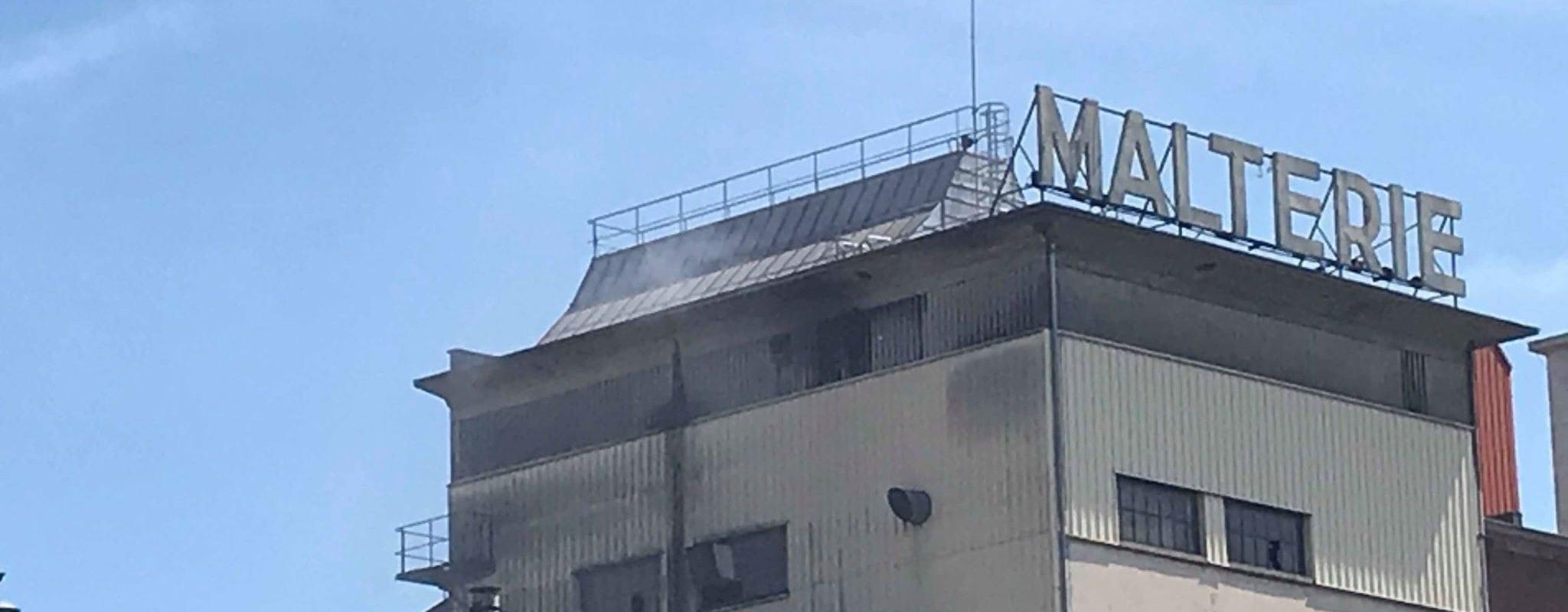 Un incendie sans blessés à la malterie du Port-du-Rhin