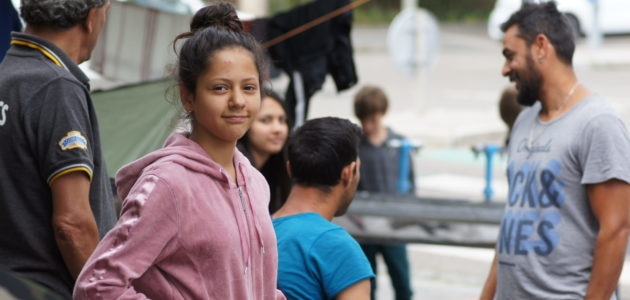 De nouveau, une centaine de migrants installés aux Canonniers