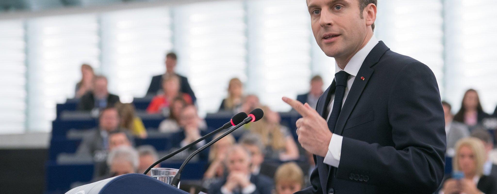 Emmanuel Macron en visite à Strasbourg mardi
