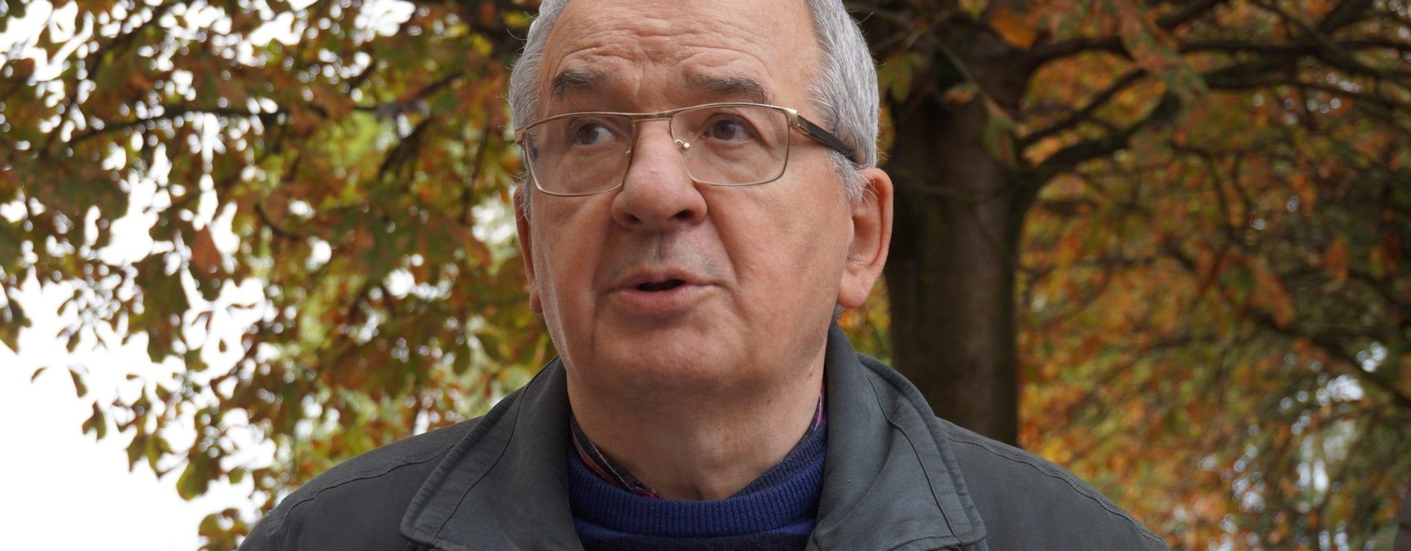 Avec Gérard Baumgart, Strasbourgeois engagé pour l'hébergement des migrants