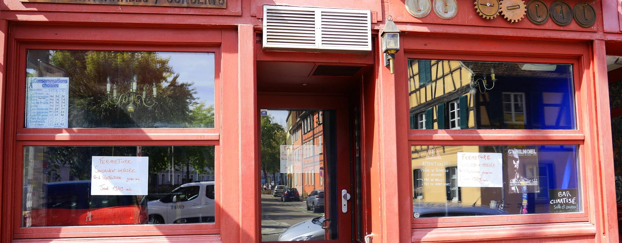 Des riverains obtiennent la fermeture temporaire du Local, bar à concerts de la Krutenau