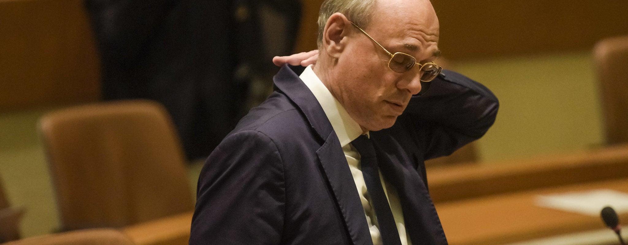 Ancienne tête de liste du Front national, Jean-Luc Schaffhauser démissionne de ses mandats à Strasbourg