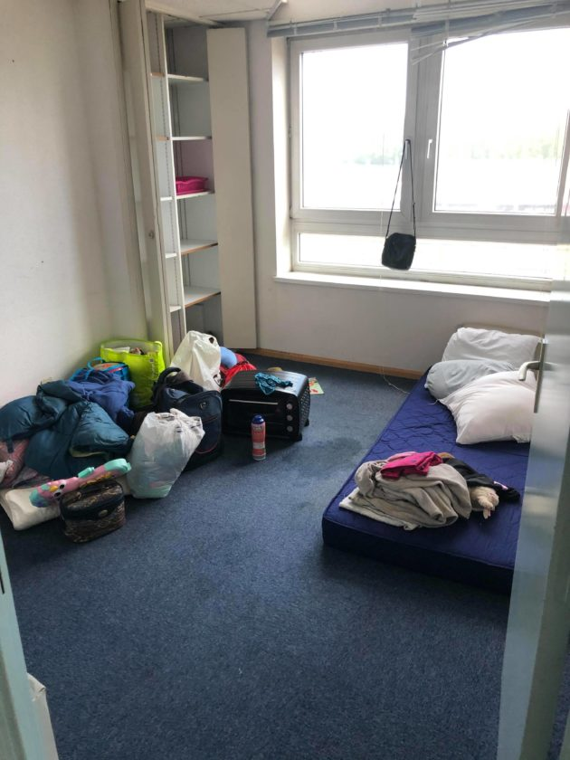 squat au 19 rue Saint-Junien à Schiltigheim (doc remis)