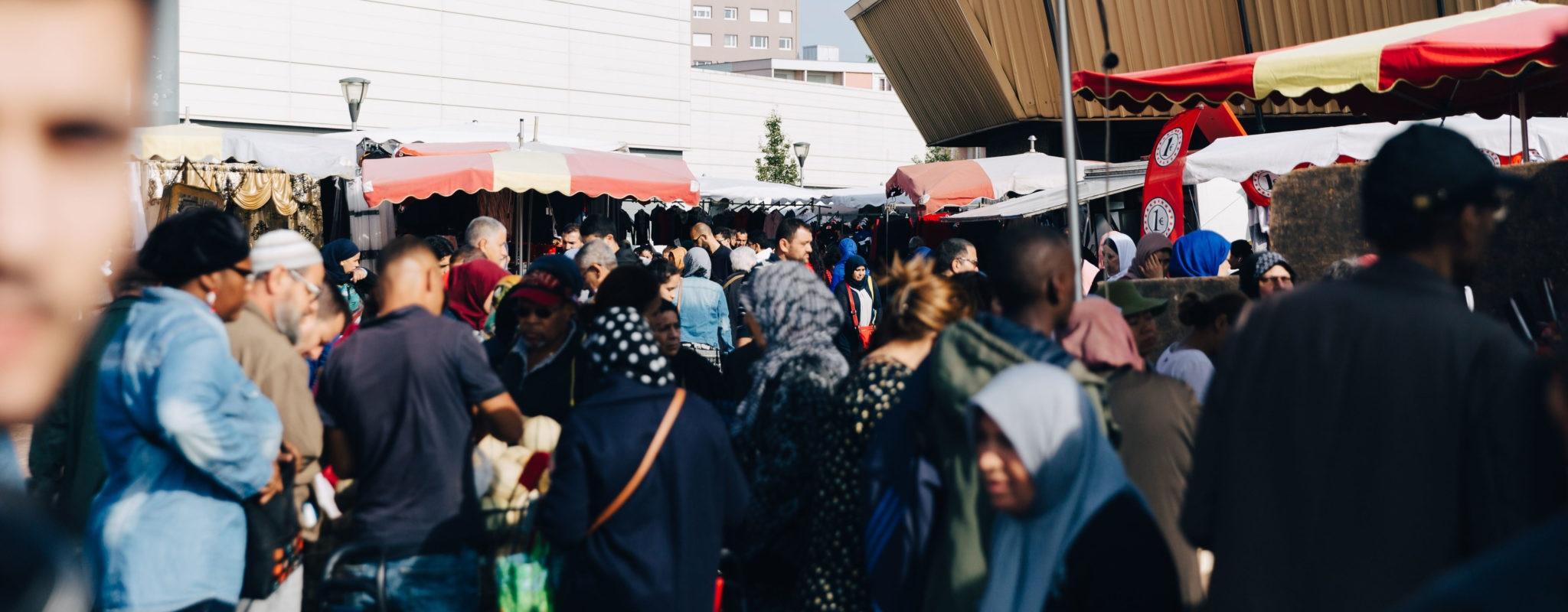 Au marché de Hautepierre, «on vend tout 20 centimes de moins au kilo»