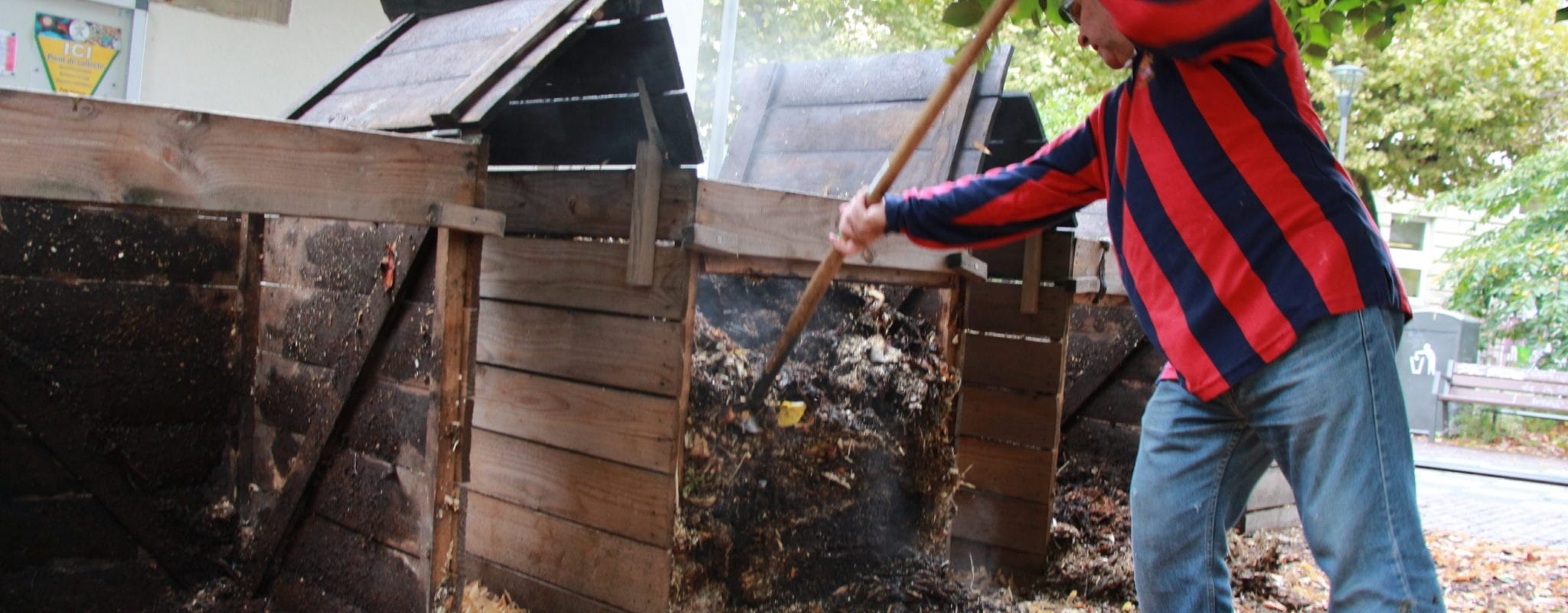 «Les bénévoles du compostage ont besoin du soutien logistique de la future mairie»