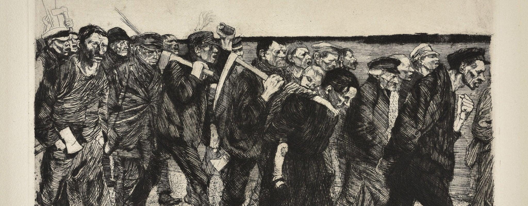 Guerre, pauvreté, répression… Käthe Kollwitz insuffle la révolte au musée d'art moderne