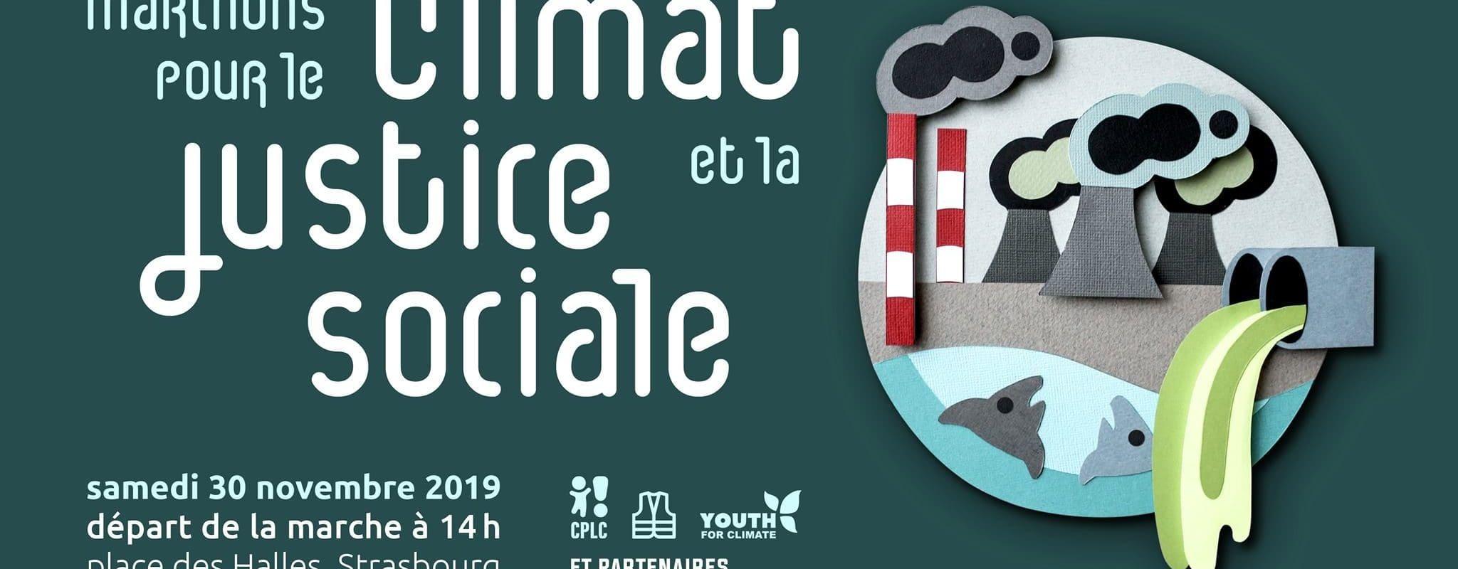 Une marche pour «le climat et la justice sociale» samedi