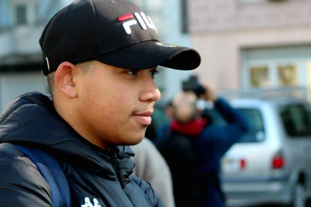 """Ameur Brieg, 18 ans, cite le film """"Taxi"""", comme référence absolue. (Photo : OG/ Rue89 Strasbourg)"""