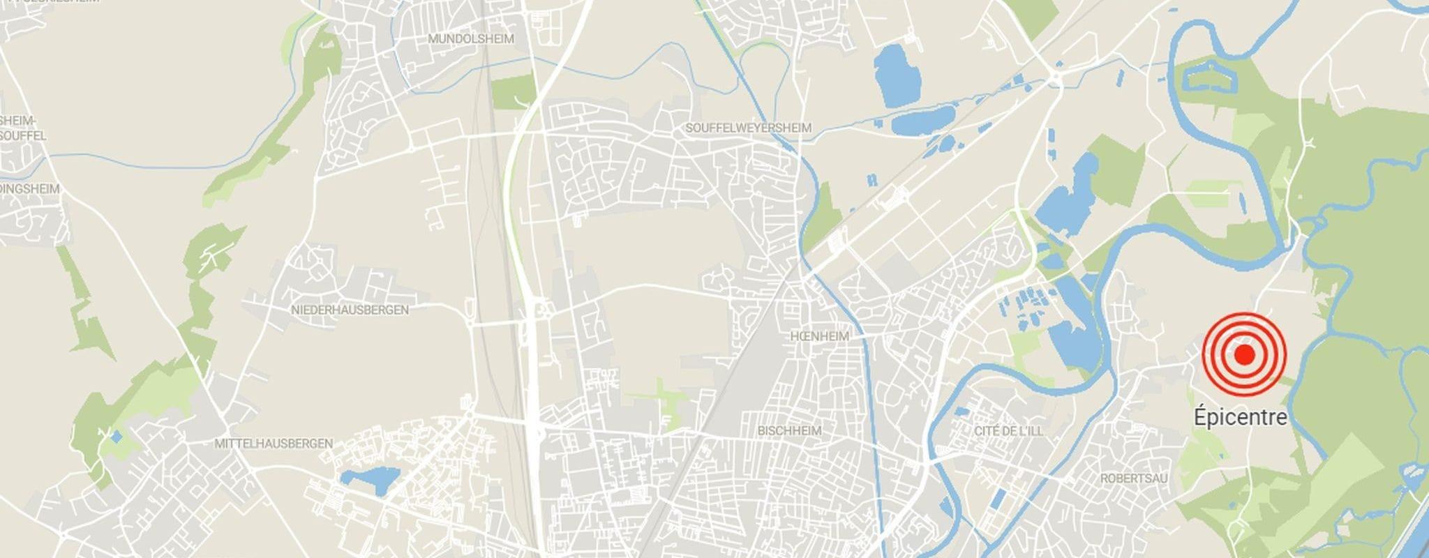 Un séisme secoue Strasbourg, Fonroche dément en être à l'origine