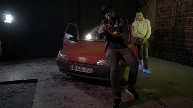 Junior et Ridfauve incarnent deux des trois artistes qui souhaitent percer dans le rap. (Photo : doc. remis)