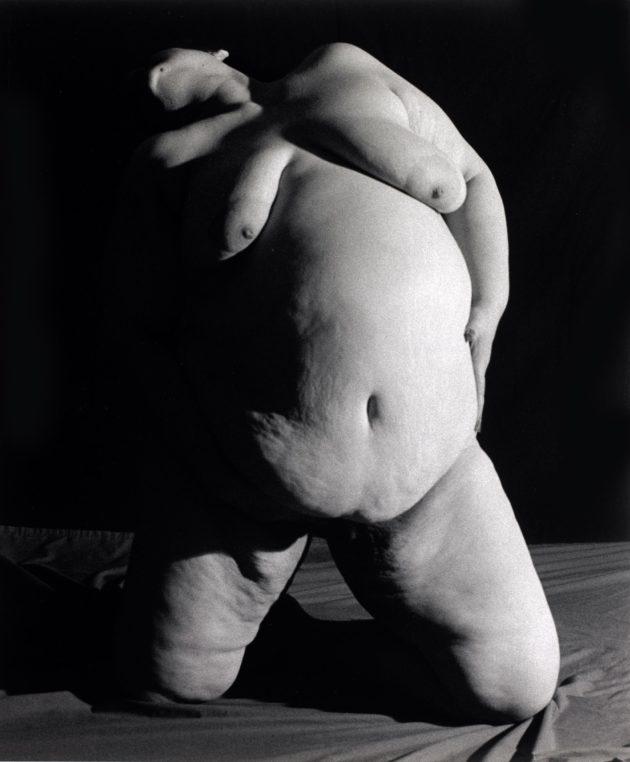 Photo Ariane Lopez-Huici, Le corps qui parle, Vénus de Manhattan 2, 1994, New York, Collection du Centre National des Arts Plastiques