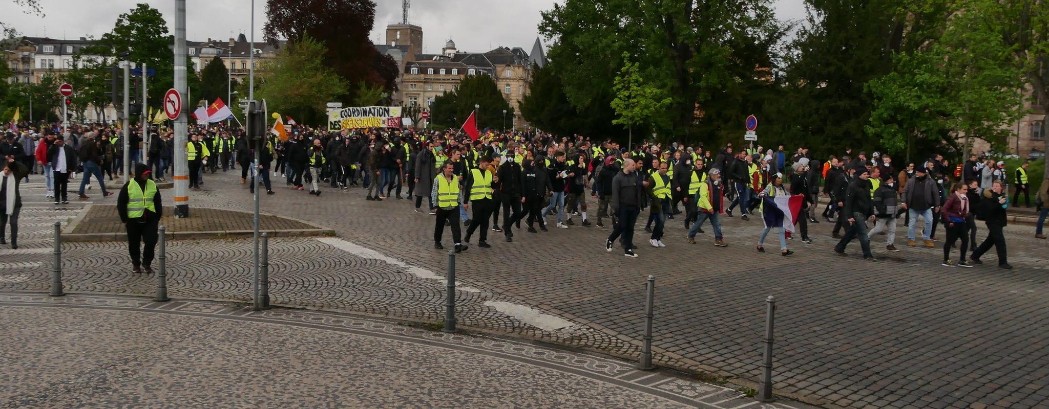 Acte 52 des Gilets jaunes: ce samedi, les luttes du Grand Est convergent à Strasbourg